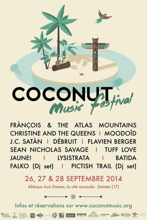 CoconutMusicFestival_Affiche